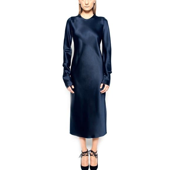 fb5813f452ad9 BEVZA Dresses | Long Sleeve Slip Midi Dress | Poshmark